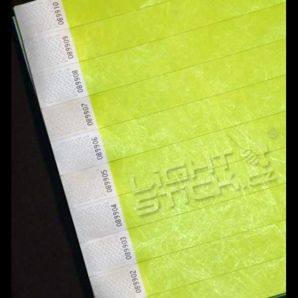 Identifikačné náramky, náramok TYVEK 2,5 cm