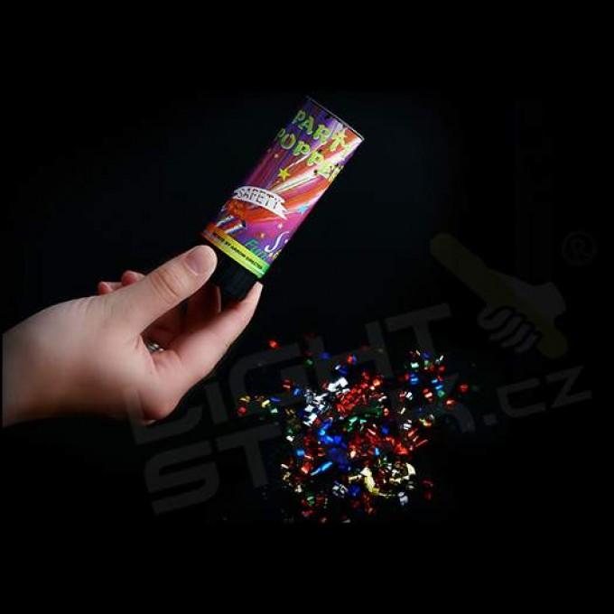 Vystreľovacie konfety 10 cm, 2-5 metrov