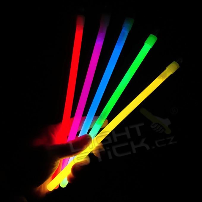 Svítící tyčinka 10cm,50ks Lightstick SLIM - kopie - kopie