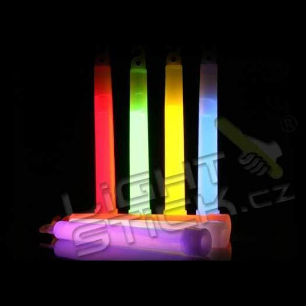 Svietiaca tyčinka 10ks, chemické svetlo 15 cm bez obalu