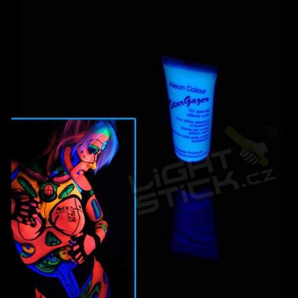 Farba na telo a tvár 12ml, UV, bodypainting
